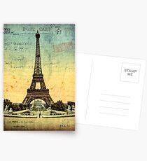 Paris Vintage Eiffel Tower Postcards