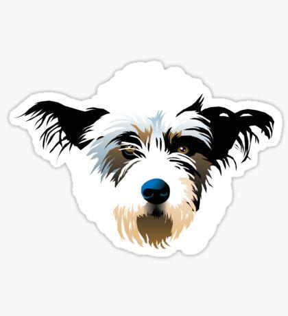 Fluffy Puppy Sticker