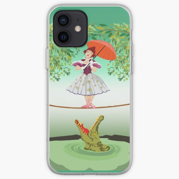 Cute halloween The crocodile girl Deadly circus iPhone Soft Case