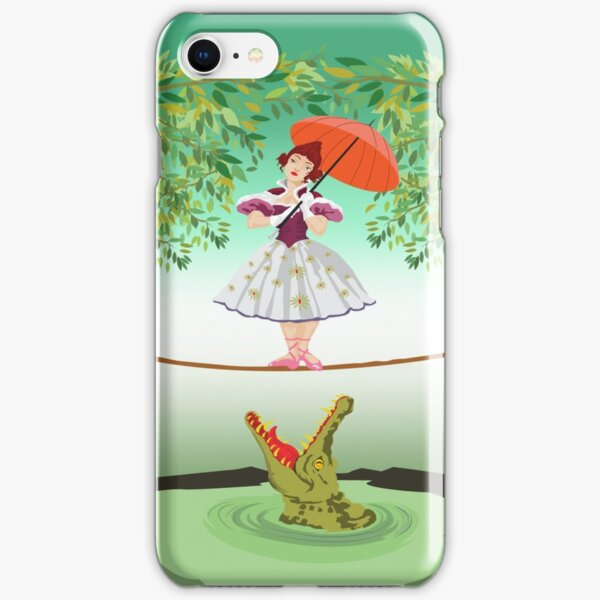 Cute halloween The crocodile girl Deadly circus iPhone Snap Case