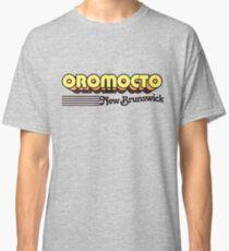 Oromocto, New Brunswick | Retro Stripes Classic T-Shirt