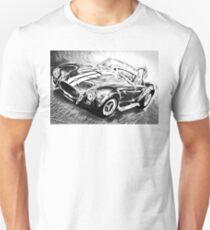 Shelby COBRA  (black and white) Unisex T-Shirt