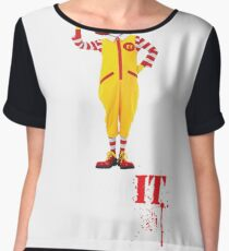 Pennywise lovin' IT ( White Font ) Chiffon Top
