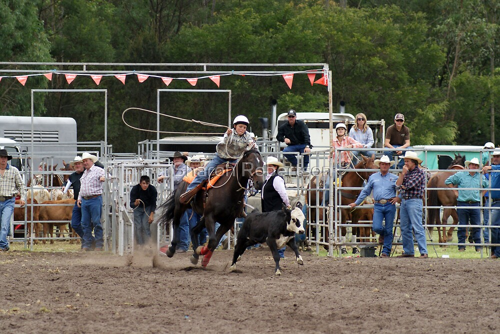 Picton Rodeo ROPE8 by Sharon Robertson
