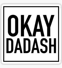 FUNNY IRANIAN DESIGN, OKAY DADASH/ OKAY BRO IN FARSI/PERSIAN Sticker