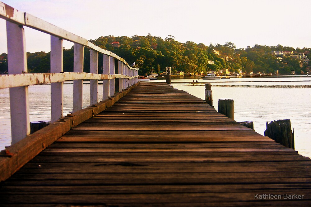 A Long Walk...: Como Marina Pier 4 January 2009 by Kathleen Barker