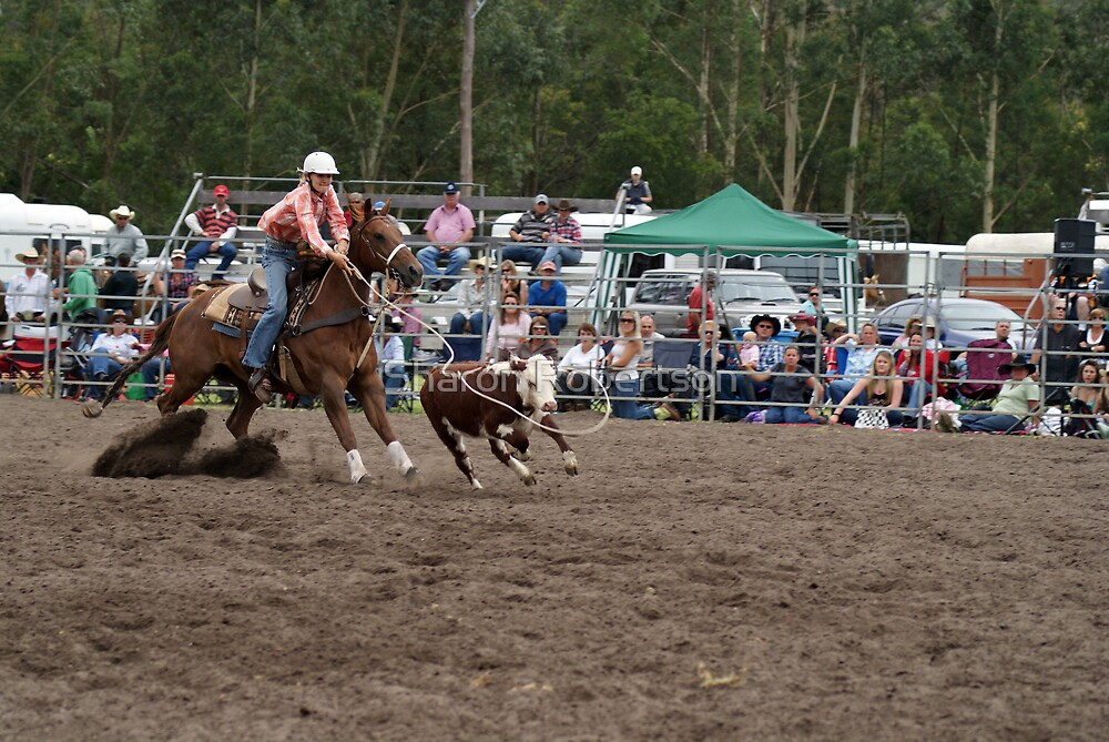 Picton Rodeo ROPE15 by Sharon Robertson