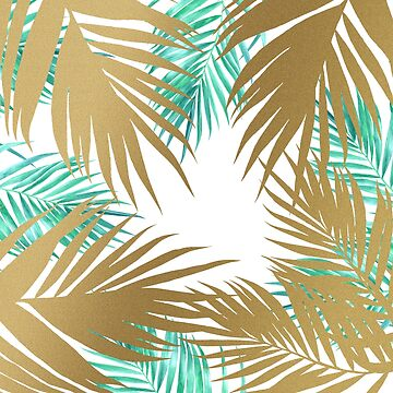 Golden Paradise Beach Pattern by tobiasfonseca