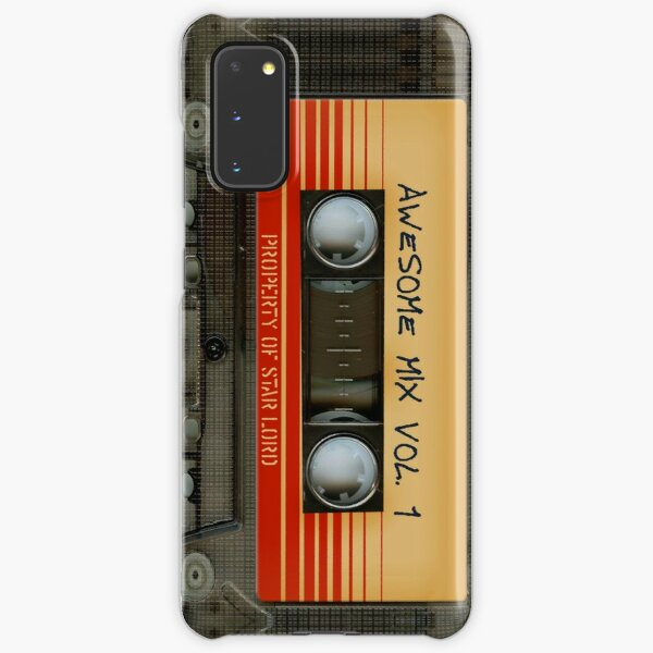 Awesome transparent mix cassette tape volume 1 Samsung Galaxy Snap Case