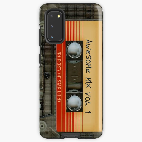 Awesome transparent mix cassette tape volume 1 Samsung Galaxy Tough Case