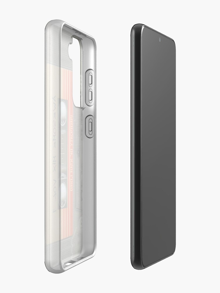 Alternate view of Awesome transparent mix cassette tape volume 1 Case & Skin for Samsung Galaxy