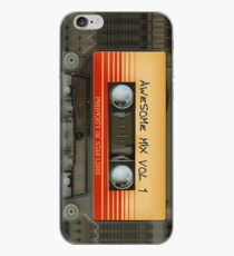 Vinilo o funda para iPhone Impresionante volumen de cinta de cassette de mezcla transparente 1