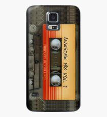 Awesome transparent mix cassette tape volume 1 Case/Skin for Samsung Galaxy