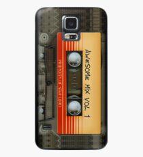 Funda/vinilo para Samsung Galaxy Impresionante volumen de cinta de cassette de mezcla transparente 1