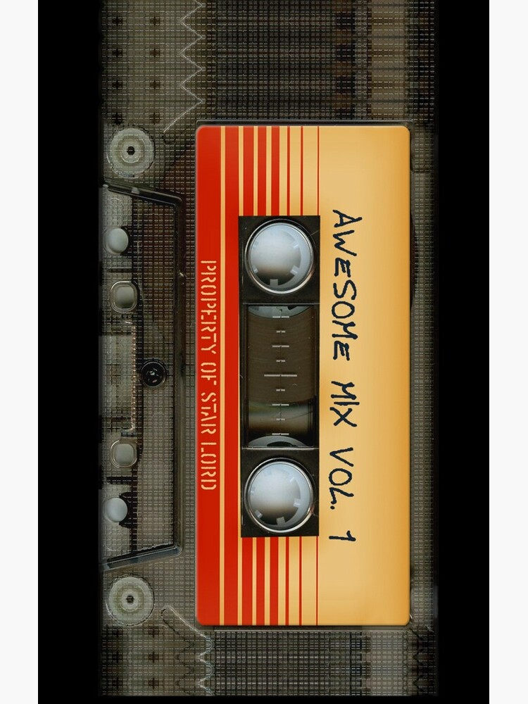 Awesome transparent mix cassette tape volume 1 by dezigner007