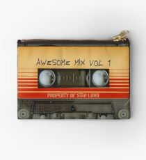 Awesome transparent mix cassette tape volume 1 Studio Pouch