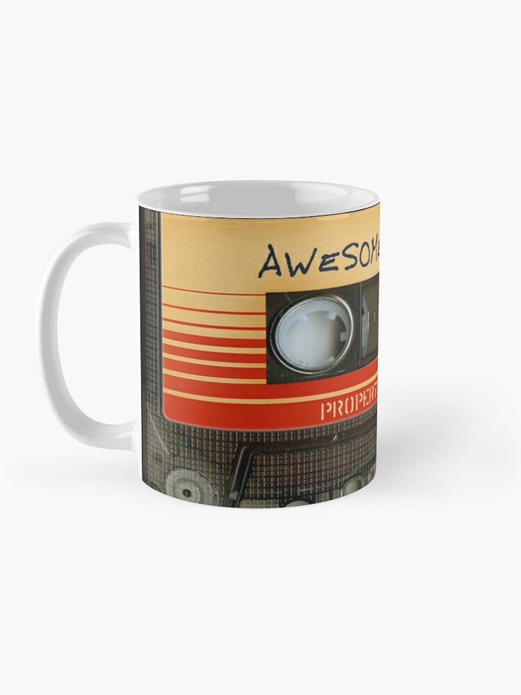 Alternate view of Awesome transparent mix cassette tape volume 1 Mug