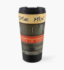 Awesome transparent mix cassette tape volume 1 Travel Mug