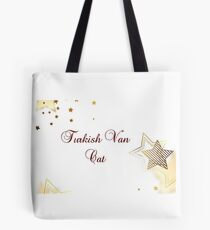 Turkish Van cat - star quality Tote Bag