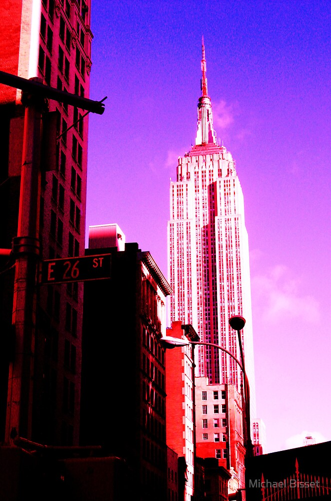 new york  - empire state building  by Michael Bisset