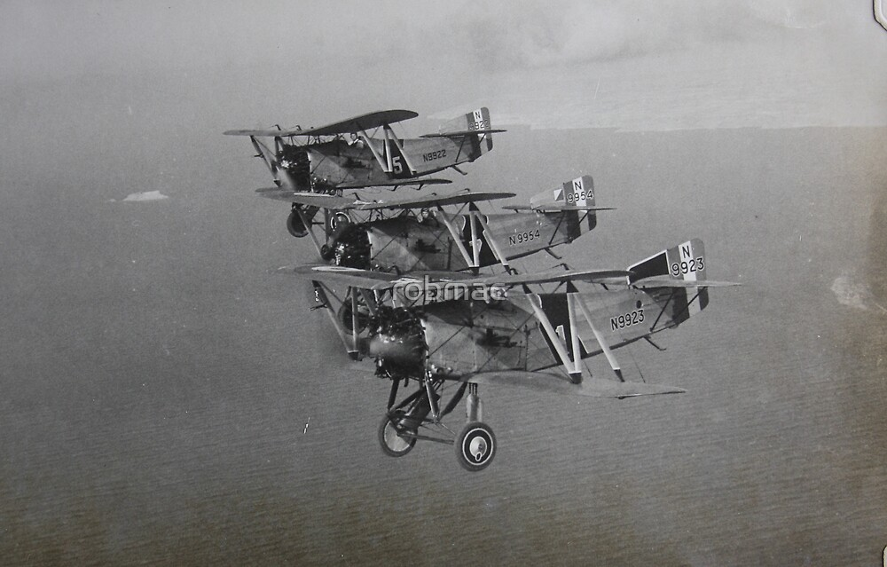 Fairey flycatchers in formation by robmac