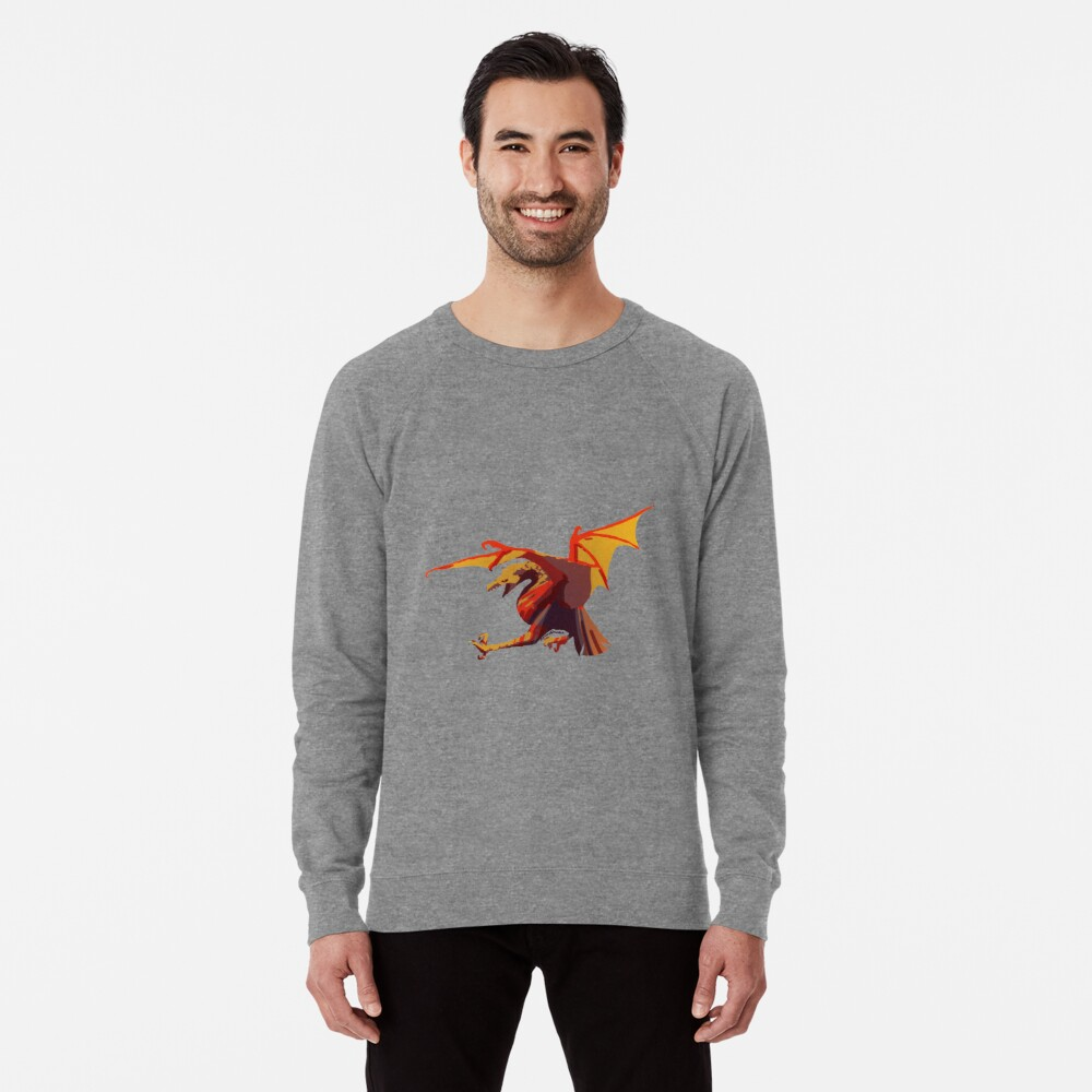 Ein anderer Drache Leichter Pullover