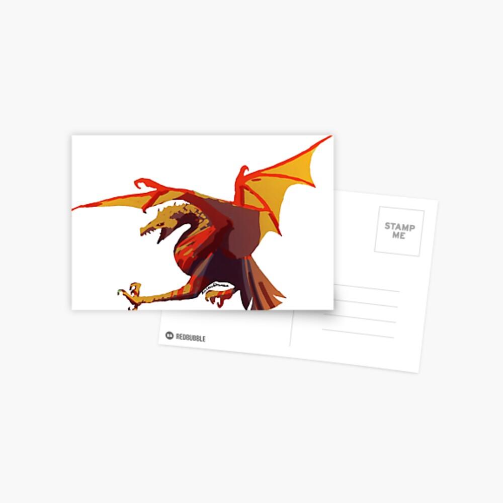 Ein anderer Drache Postkarte