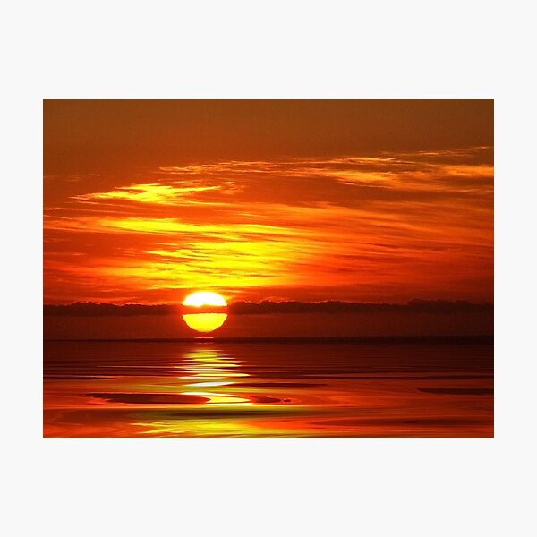 """Simply Sunrise"" Photographic Print"