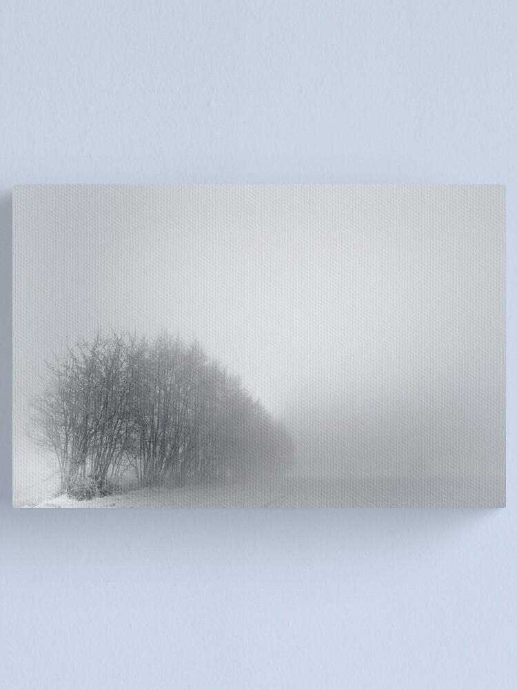 Alternate view of Trees; Mist Canvas Print