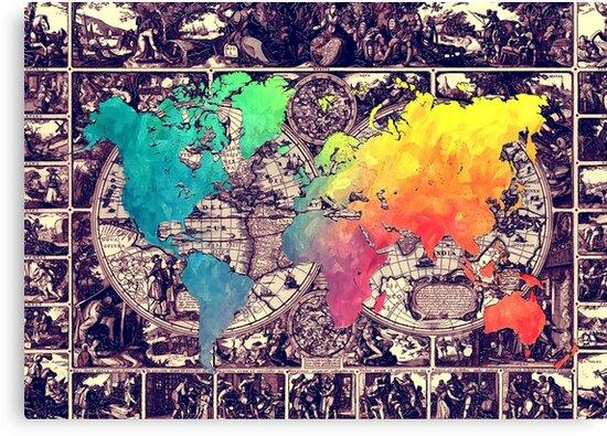 world map 130 #worldmap #map by JBJart