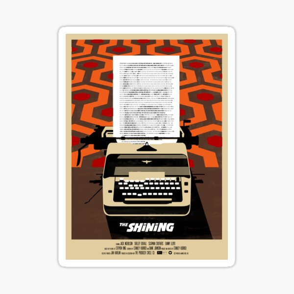 The Shining - Reworked Sticker