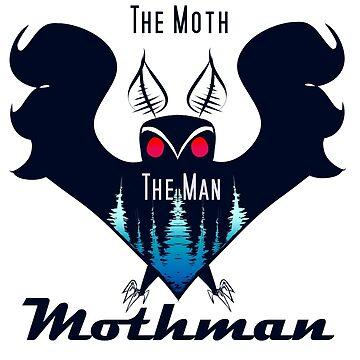 Mothman, the legend by azurlys