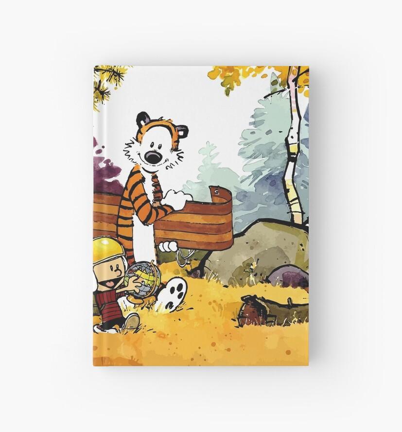 Cuadernos de tapa dura «Calvin Hobbes, regalo de guardería, dibujos ...