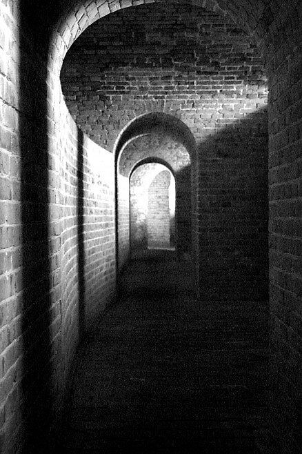 Curves Bricks and Shadows by Dennis Blauer
