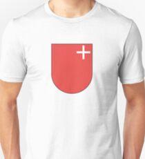 Coat of Arms of Schwyz Canton Unisex T-Shirt