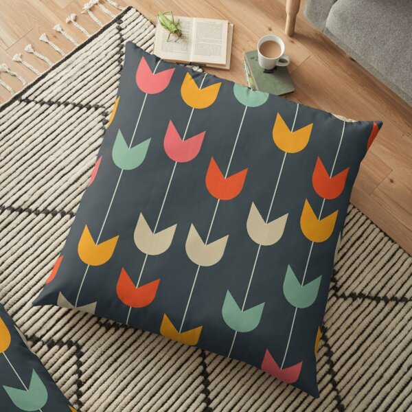 Tulips Floor Pillow