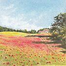 Poppy Field Farm by FranEvans