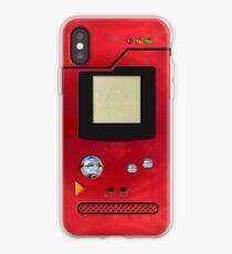 red retro pokedex iPhone Case