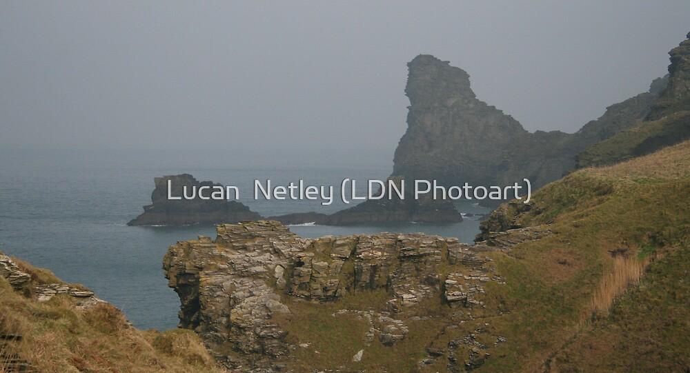 rugged coast....... by Lucan  Netley (LDN Photoart)