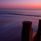 Hayling Sunset and Waves by Daniel Knights