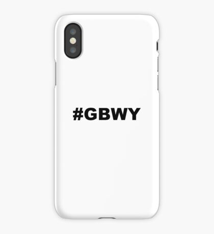 #gbwy iPhone Case