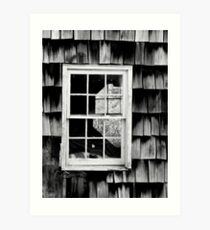 LOOKING THROUGH THE WINDOW Art Print