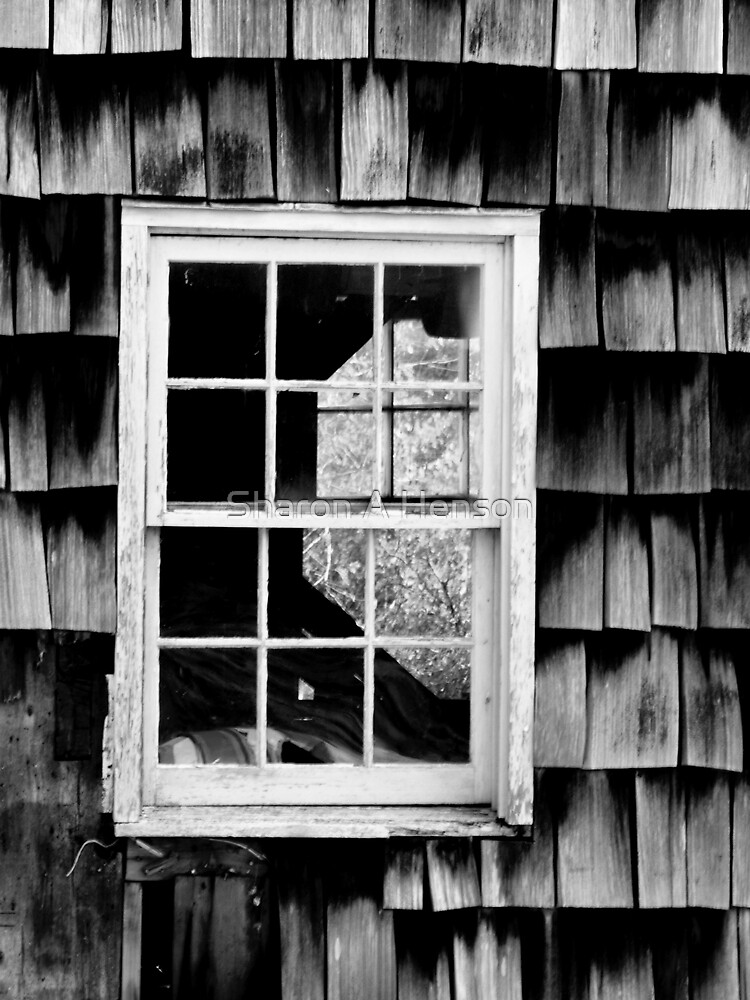 LOOKING THROUGH THE WINDOW by Sharon A. Henson