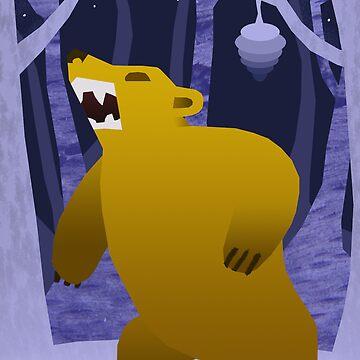 The Honey Bear by rosemarydarling