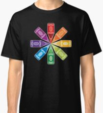 Camiseta clásica Explosión de lápices de colores