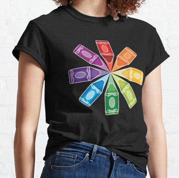 Crayon Burst Classic T-Shirt