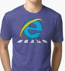 Internet Slower! Tri-blend T-Shirt