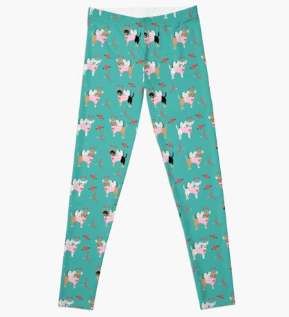 Chihuahua love bug valentines day gifts for chihuahuas pure breed must haves Leggings