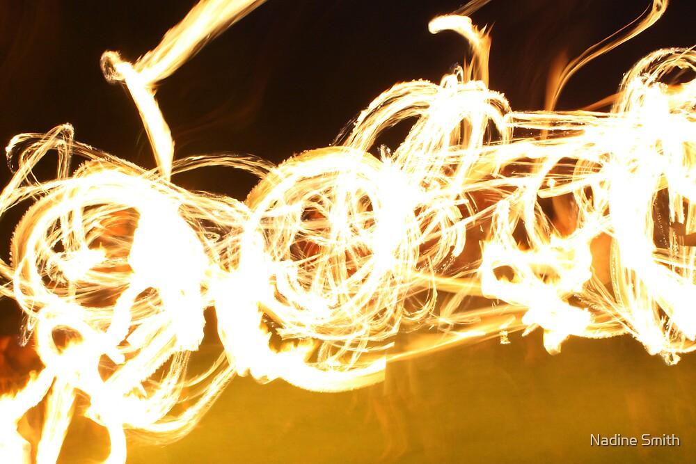 Fire dance by Nadine Smith
