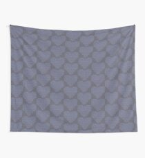 Knitting Knit Love Heart Wall Tapestry